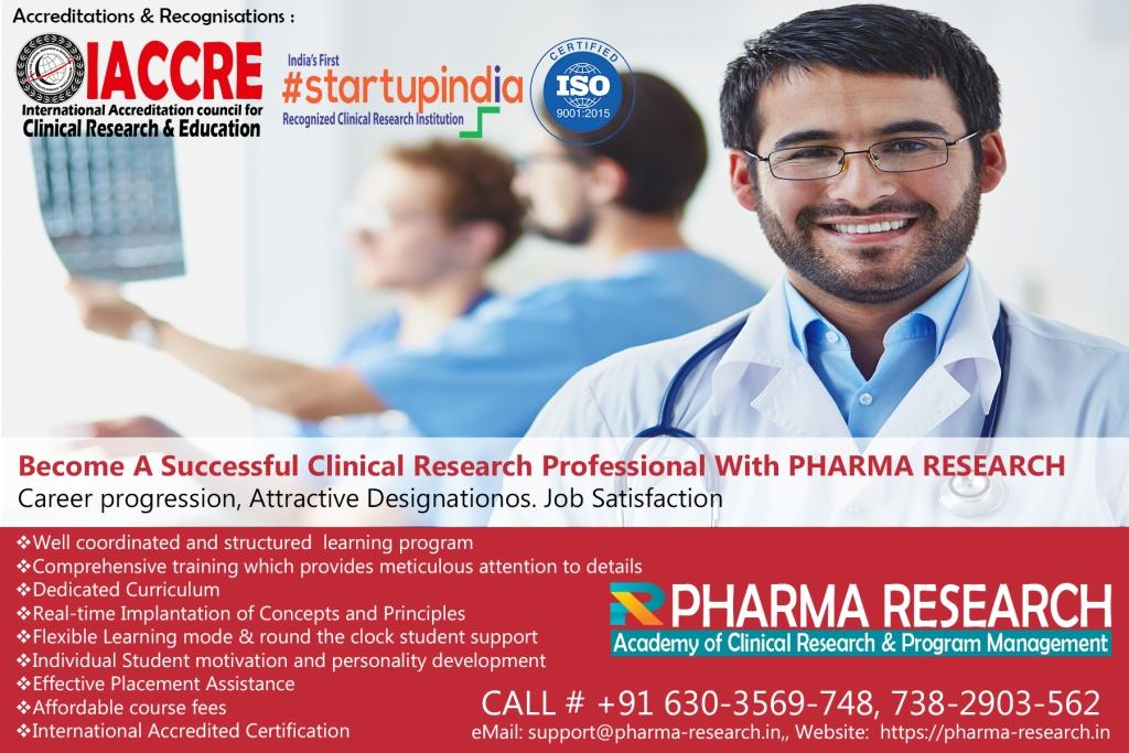 Become a Successful Clinical Research Professional